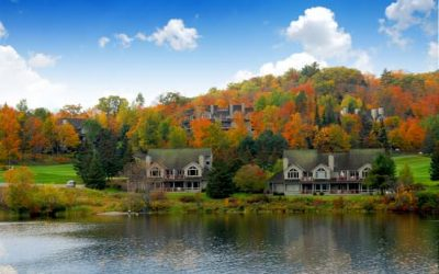 Homes on Lakes in Bloomfield Township