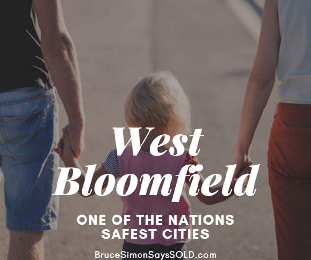 West Bloomfield Ranked 9th Safest City in Nation
