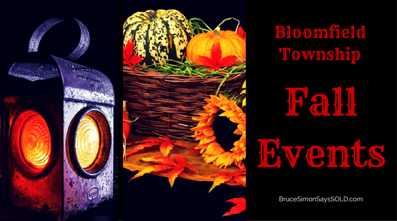 Fall Events in Bloomfield Township 2017