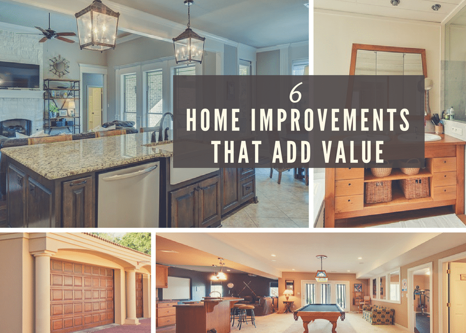 6 Best Remodeling Projects that Add Value to Your Home