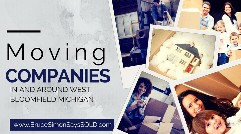 Top Rated Moving Companies Serving West Bloomfield and the Surrounding Areas