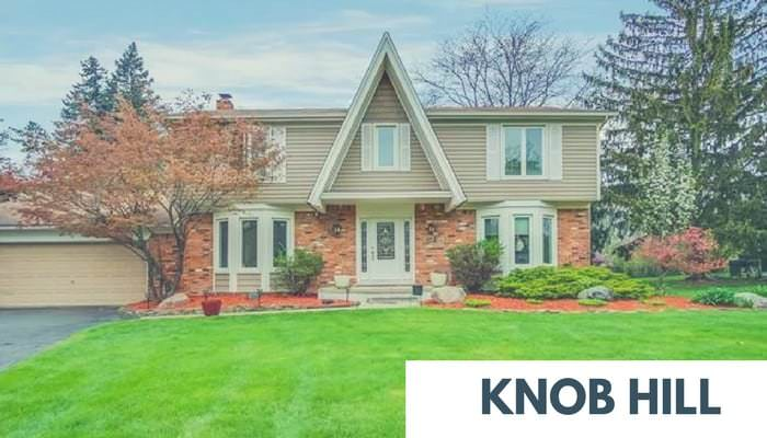 Knob Hill Homes for Sale
