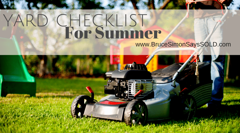 A Checklist of Getting Your Yard Ready for Summer