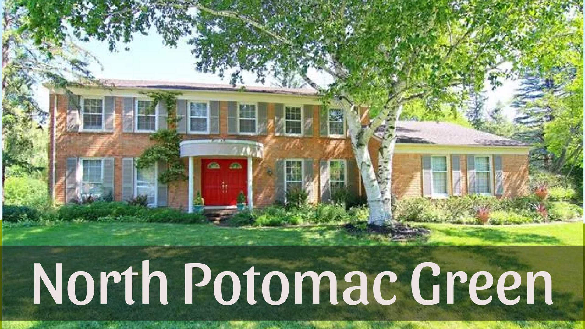 North Potomac Green Homes for Sale