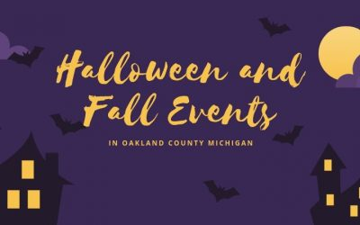 Halloween and Fall Events in Oakland County Michigan 2019