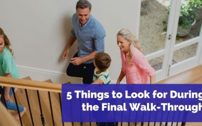 5 Things to Look for During the Final Walk-Through
